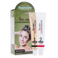 Thuốc nhuộm tóc phủ bạc dạng gội Hicara Easy Speedy Hair Color 60g