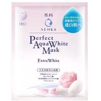 Mặt Nạ Dưỡng Da Trắng Hồng Senka Perfect Aqua White Mask Extra White 25ml
