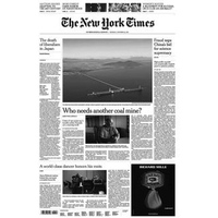 Báo giấy The New York Times