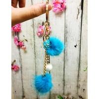 Móc Khóa MK116 charm hoa ngọc trai