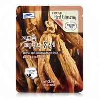 Mặt nạ dưỡng da chống lão hóa chiết xuất nhân sâm đỏ 3W Clinic Fresh Red Ginseng Mask Sheet 23ml