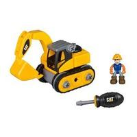 Đồ chơi mô hình Cat - Xe đào đất và công nhân CAT80903
