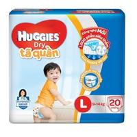 TÃ QUẦN HUGGIES L20 (9-14KG)