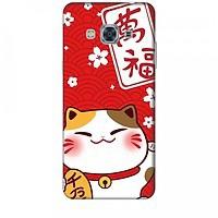 Ốp lưng dành cho điện thoại SAMSUNG GALAXY J3 PRO 2016 Mèo Thần Tài Mẫu 2