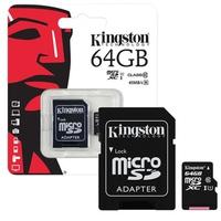 Thẻ nhớ MicroSDXC Kingston Class 10 64GB