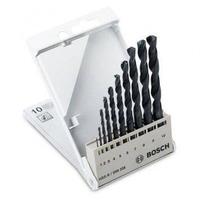 Bộ mũi khoan sắt Bosch HSS-R DIN338 1 - 10mm