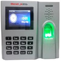 Máy chấm công vân tay và thẻ cảm ứng Ronald Jack X628/X628 PLUS