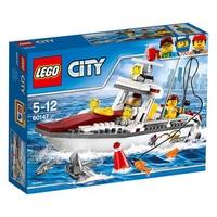 Mô Hình Lego City 60147 - Thuyền Đi Câu