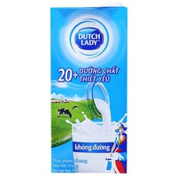 Sữa tiệt trùng Dutch Lady không đường 1L
