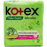 Băng vệ sinh Kotex Thảo dược