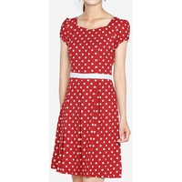 Đầm Xòe Họa Tiết The One Fashion DDP3263