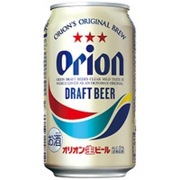 Bia tươi Orion Draft lon 350ml