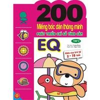 200 Miếng Bóc Dán Thông Minh - Phát Triển Chỉ Số Tình Cảm EQ (Tập 1-2)