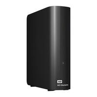 Ổ cứng di động HDD Western Digital 4TB Elements 3.5 Series USB 3.0 WDBBKG0040HBK