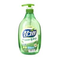 Nước rửa rau quả và chén bát CJ Lion Real Green tinh chất trà xanh