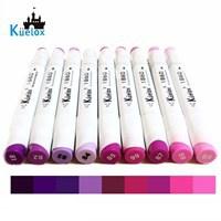 Bút Marker Fine Colour Kuelox Lẻ Tông Màu Tím (1 cây)