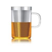 Ly lọc trà thủy tinh lõi inox Samadoyo 0.5L