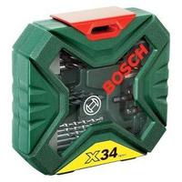 Bộ mũi khoan và vặn vít 34 món X-Line Bosch 2607010608