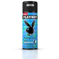 Xịt Khử Mùi Toàn Thân Cho Nam Playboy Generation 150ml