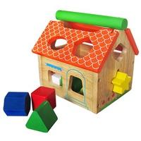 Đồ chơi gỗ Winwintoys 68022 - Nhà thả 12 khối