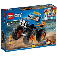 Mô hình LEGO city 60180 - Xe Tải Quái Vật