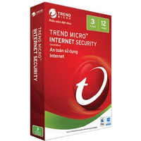 Phần Mềm Diệt Virus Trend Micro Internet Security (3 Pcs/1 Year )