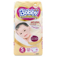 Tã dán Bobby Extra Soft Dry S40 (4-7kg)