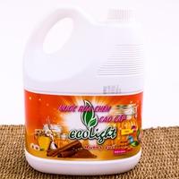 Nước rửa chén Ecolight hương quế 3.6L