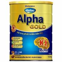 Sữa Dielac Alpha Gold số 3 1.5kg từ 1-2 tuổi