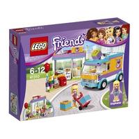 Mô hình LEGO Friends 41310 - Dịch vụ giao hàng quà tặng Heartlake