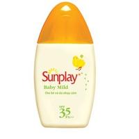Sữa chống nắng cho da nhạy cảm Sunplay Baby Mild SPF35,PA++ 30g