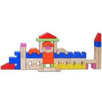 Đồ Chơi gỗ Winwintoys 66152 - Bộ Xếp hình Lâu Đài