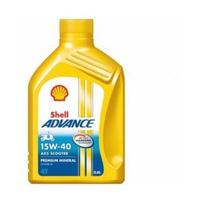 Dầu nhớt Shell Advance AX5 4T 15W-40 0.8L