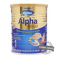 Sữa Dielac Alpha Gold số 1 400g 0-6 Tháng