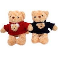 Gấu bông Bibo's áo len hình gấu trung 013