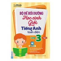 Bộ Đề Bồi Dưỡng Học Sinh Giỏi Tiếng Anh Toàn Diện Lớp 3