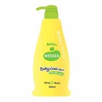 Sữa Tắm Gội Wesser 2in1 Hương Cỏ Xạ Hương (White Musk)-xanh lá