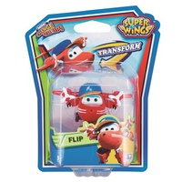 Đồ chơi Super Wings YW720021 - Robot biến hình máy bay mini Flip Nhanh Nhẹn