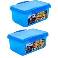 Hộp Nhựa Uncle Bills KS0780 800ml xanh dương