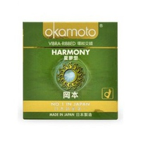 Bao cao su gai sọc Okamoto Harmony