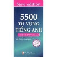 5500 Từ Vựng Tiếng Anh Thông Dụng Nhất