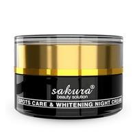 Kem dưỡng trắng và trị nám ban đêm Sakura Spots Care & Whitening Night Cream 30g
