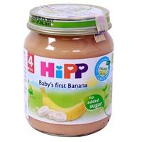 Dinh dưỡng đóng lọ Hipp 125g 4m+ chuối ăn dặm khởi đầu