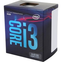 CPU Intel Core i3-8100 3.6Ghz