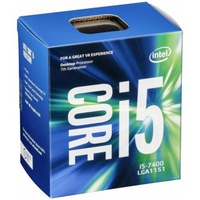 CPU Intel Core i5-7400 3.0 GHz