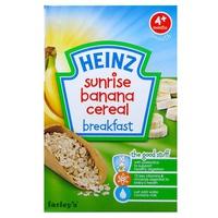 Bột ăn dặm Heinz ngũ cốc chuối 125g 4m+