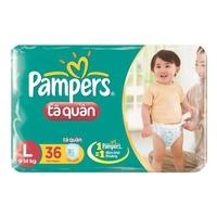 TÃ QUẦN PAMPERS L36 (9-14KG)