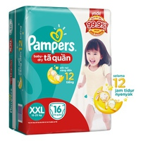 Tã quần Pampers XXL16 (15-25kg)