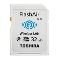 Thẻ nhớ SDHC Toshiba 32GB Flash Air WiFi