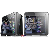 Case Thermaltake View 71 RGB Tempered Glass (Mid Tower - Support Modding)